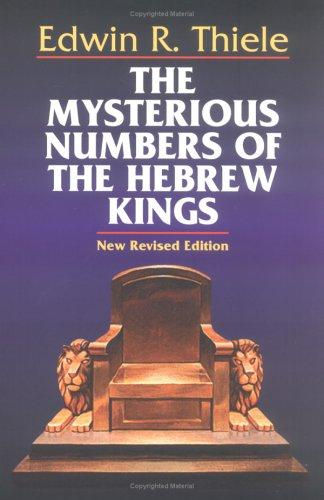 Download The mysterious numbers of the Hebrew kings