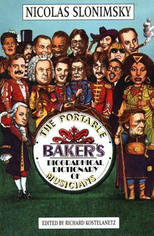 Download The Portable Baker's Biographical Dictionary of Musicians