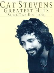 Cat Stevens' Greatest Hits: Song Tab Edition [Paperback] by Steven, Cat