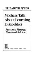 Download Mothers Talk About Learning Disabilities