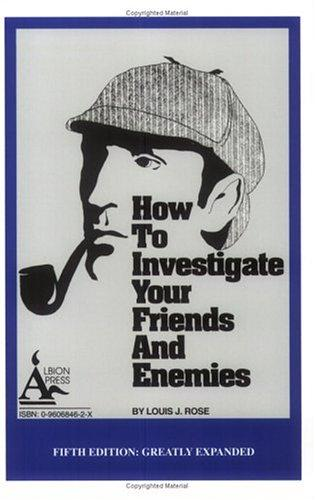 Download How to Investigate Your Friends and Enemies