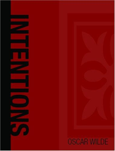 Intentions (Large Print Edition)