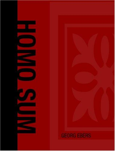 Homo Sum (Large Print Edition)