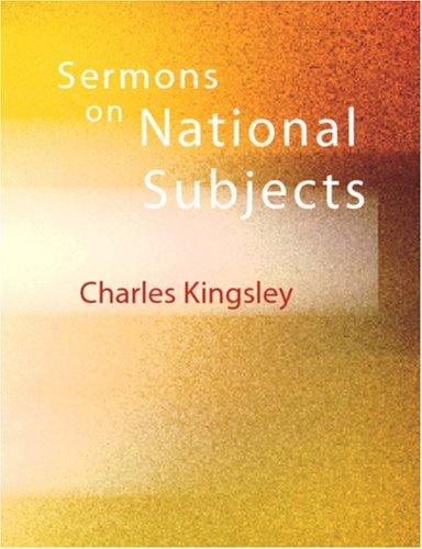 Sermons on National Subjects (Large Print Edition)