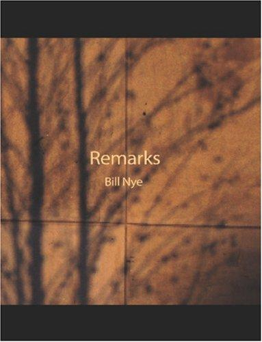 Remarks (Large Print Edition)