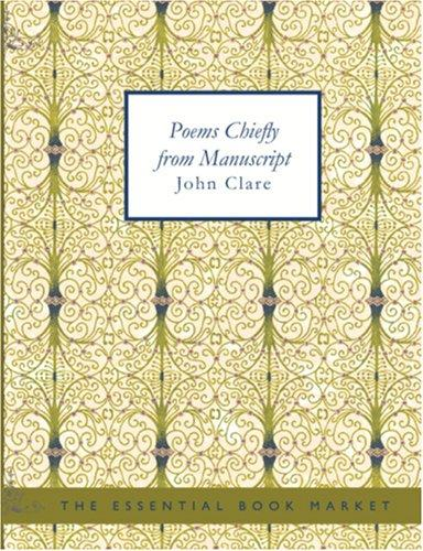 Poems Chiefly from Manuscript (large Print Edition)