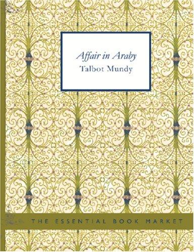 Affair in Araby (Large Print Edition)