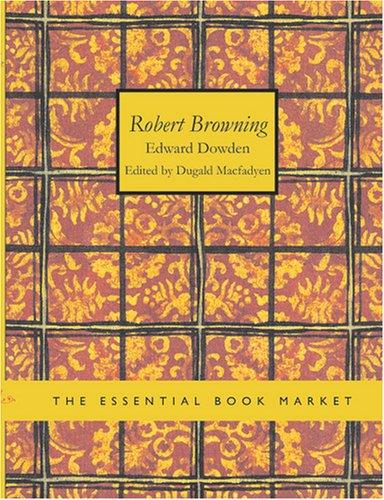 Download Robert Browning (Large Print Edition)