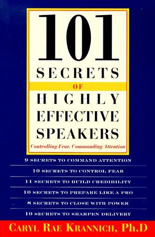 Download 101 secrets of highly effective speakers