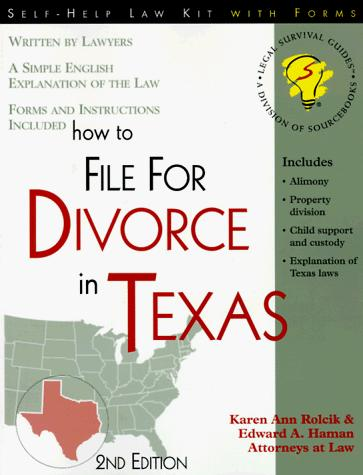 Download How to file for divorce in Texas