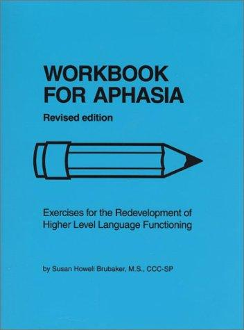 Download Workbook for aphasia