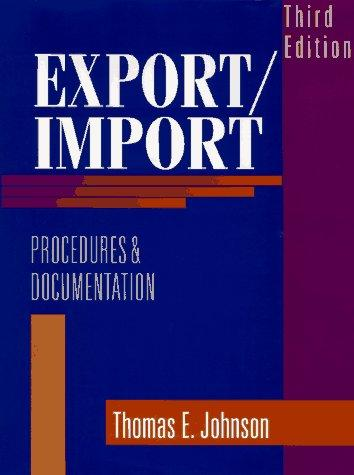 Download Export/import procedures and documentation