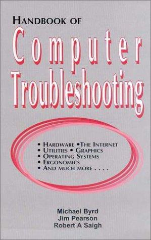 Handbook of computer troubleshooting