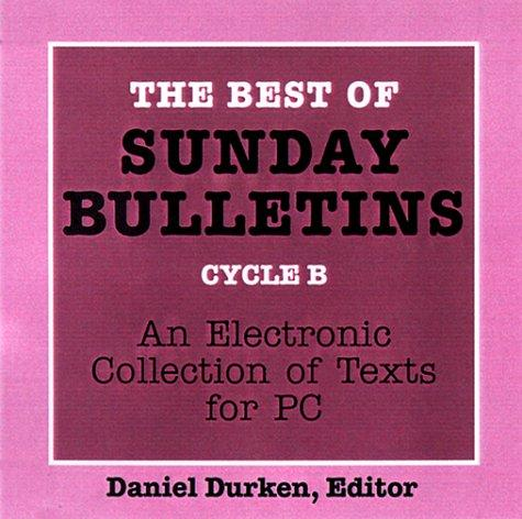 Download The Best of Sunday Bulletins