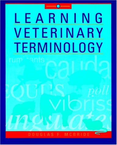 Learning veterinary terminology