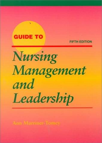 Download Guide to Nursing Management and Leadership