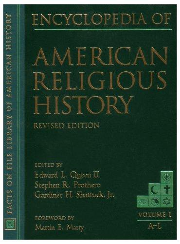 Download Encyclopedia of American religious history