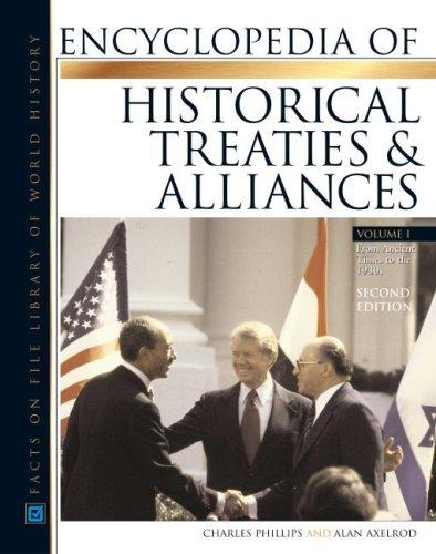 Download Encyclopedia of historical treaties and alliances