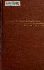 Cover of: Approaches to economic development   Norman S. Buchanan