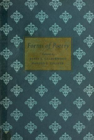 Cover of: Forms of poetry | James L. Calderwood