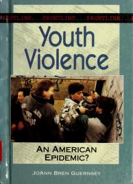Cover of: Youth violence | JoAnn Bren Guernsey