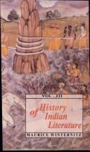 History of Indian Literature, Volume 3 by Maurice Winternitz