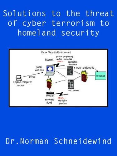 Solutions to the threat of cyber terrorism to homeland security by Dr.Norman Schneidewind