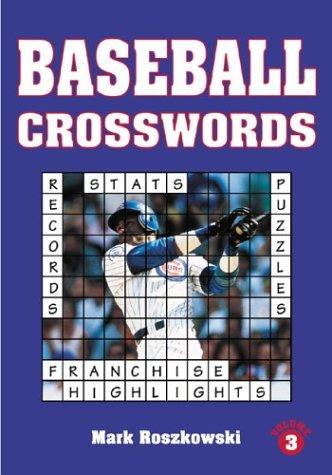 Baseball crosswords by Mark Roszkowski
