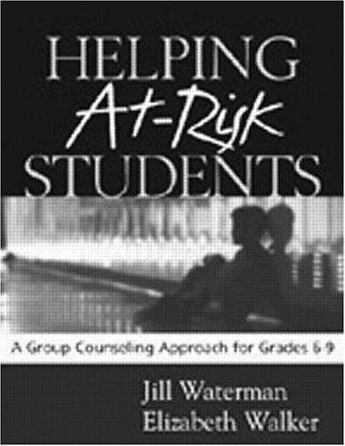 Helping at-risk students by Jill Waterman