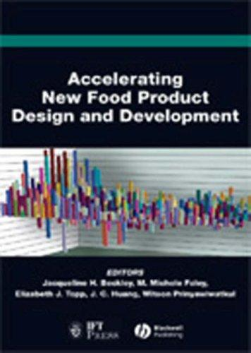 Accelerating new food product design and development by