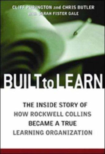 Built to learn by